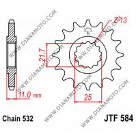 Зъбчатка предна JTF 584 - 16 к. 7113