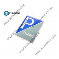 Емблема Piaggio 45x36мм OEM 576464 к. 31-203