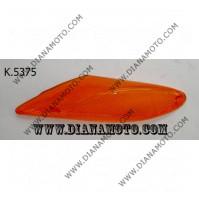 Стъкло за мигач MBK Booster 50 NG преден ляв оранжев к. 5375