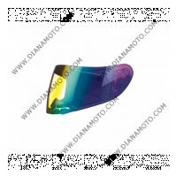 Слюда за каска MT V-12 MAX Иридиум Rainbow к. 10741