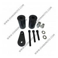 Тапи предпазни за рама Yamaha YZF-R6 03-05 YZF-R6 S 06-08 карбон к. 9024