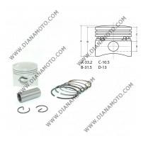 Бутало к-т Kymco GY6 50 Baotian Dafier Flex Tech Huatian Jmstar Kymco Longjia Peugeot Sukida ZongShen 50 ф 39.00мм STD OEM качество к. 7602