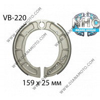 Накладки VB 220 ф 159х25мм FERODO FSB766 EBC 528 511 NHC MBS2213 к. 14-345