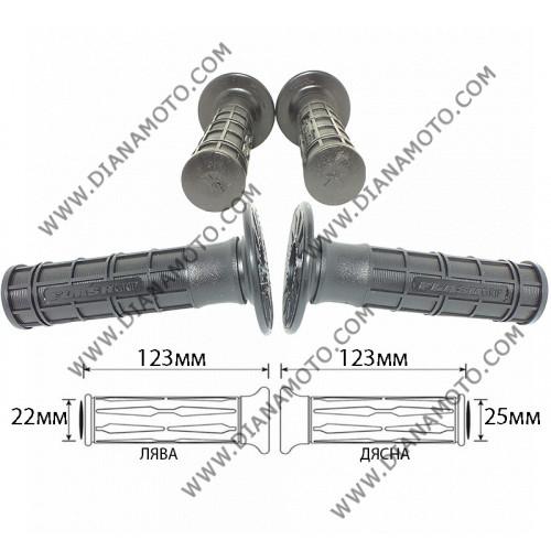 Дръжки Ariete-Harris 01671 Flash Cross Черни 123 мм к. 1032