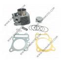 Цилиндър к-т с гарнитури Suzuki Vecstar 125 AC ф 52.00 мм болт 14 мм ОЕМ качество к. 1454
