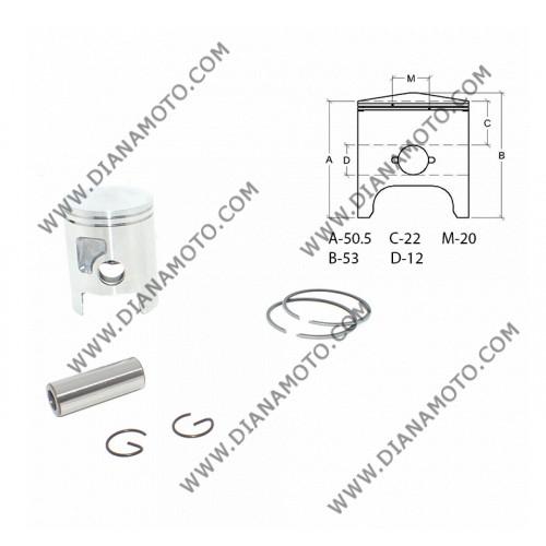Бутало к-т Yamaha AM6 50 ф 40.30 мм STD ОЕМ качество к. 112