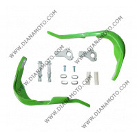 Предпазители за кормило с алуминиева рамка ф 22 мм зелен к. 7414
