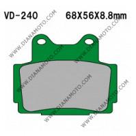 Накладки VD 240 EBC FA104 FERODO FDB386/R LUCAS MCB541 Nagano Органични к. 2261