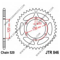 Зъбчатка задна JTR 846 - 41 = 546 - 41 CHT к. 3700