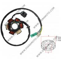 Статор KYMCO GY6 125 1+5 бубини ф 83 мм 5 кабела к. 3-207