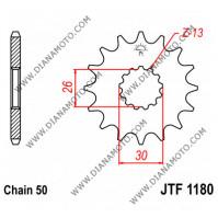 Зъбчатка предна JTF 1180 - 17 к. 5867