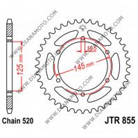 Зъбчатка задна JTR 855 - 45 к. 7766