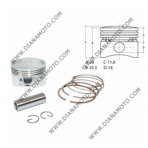 Бутало к-т Honda SH 150 ф 58.00 мм болт 14 мм ОЕМ качество к. 7430