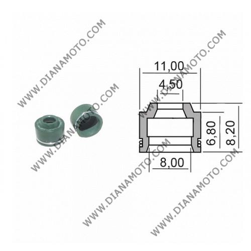 Гумички за клапан Yamaha Cygnus 125 4.5x8-6.80x8.2x11 к. 1500
