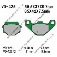 Накладки VD 425 EBC FA67/3 FA67 FA251 FA173 FERODO FDB314 FDB828 Ognibene 43023600 Органични к. 41-160