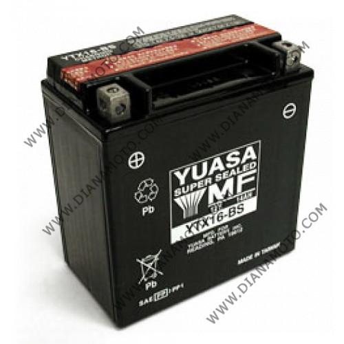 Акумулатор YTX16-BS YUASA  к. 634
