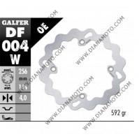 Спирачен диск преден Honda XL Transalp 650-700 NX Dominator 650 ф 256x144x4 мм 4 болта DF004 к. 9741