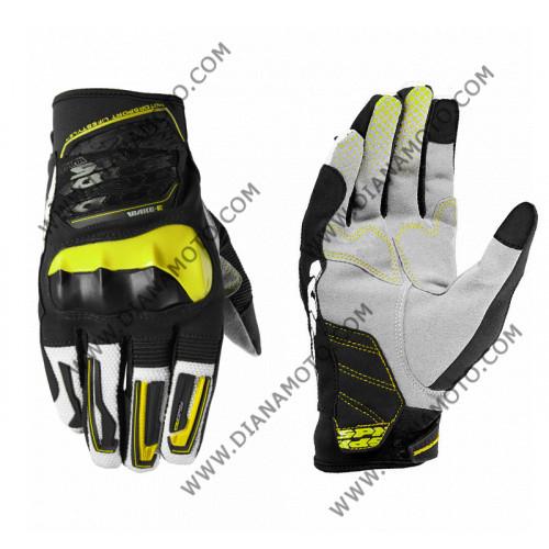 Ръкавици SPIDI WAKE EVO 107 черно-зелено L к. 8201