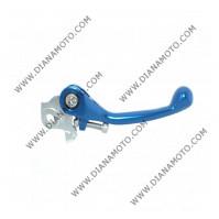 Ръкохватка спирачка спортна къса чупеща синя Yamaha YZ250 F YZ450 F к. 9478