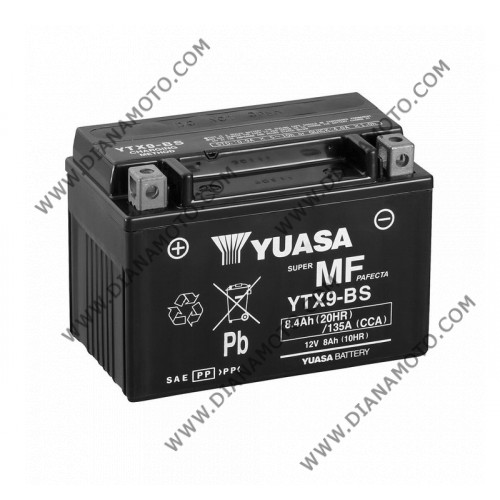 Акумулатор YTX9-BS Yuasa к. 628