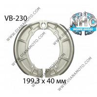 Накладки VB 230 ф 199.3х40мм MBS2216 EBC515 SBS2065 k. 2296