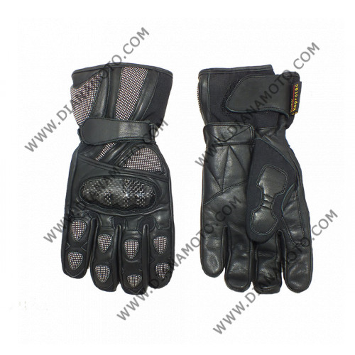 Ръкавици MBG-29 Кожа Черни М к. 4207