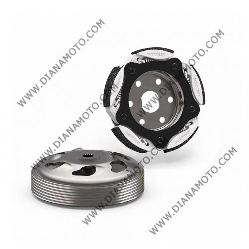Съединител центробежен к-т с камбана Yamaha Xmax 300 Malossi 5217856 Maxi Fly System ф 150 мм к. 4-504