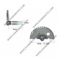 Храповик ритла GY6 50 къс дължина на ос 56 мм ф 89 мм к. 3-227