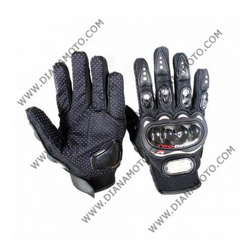 Ръкавици Pro-Biker черни XXL k. 16-75