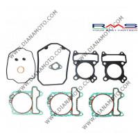 Гарнитури цилиндър к-т с гумички за клапан Aprilia Derbi Peugeot Piaggio 125-150 тип А LC RMS 100689110 к. 6521