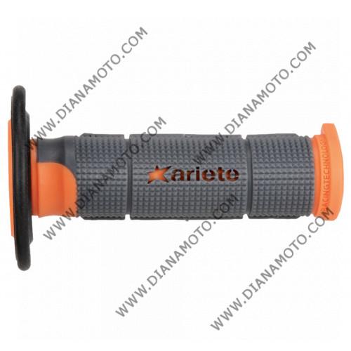 Дръжки Ariete 02614-Grar Pair Trinity сиво-оранжево-черно 125 мм к. 6784