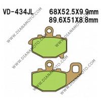 Накладки VD 434 EBC FA192 FERODO FDB2012/R LUCAS MCB662 Ognibene 43026901 СИНТЕРОВАНИ к. 41-201