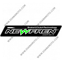 Съединител NEWFREN 166x124x3 - 7бр. 12зъба F1860 Корк к. 12-27
