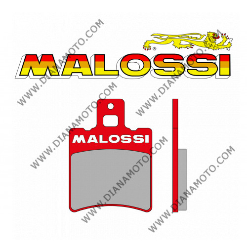 Накладки VD 256 Malossi 629083 к. 4-299
