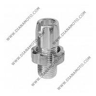 Накрайник за регулиране на жило 10 мм х 1.25 резба алуминиев к. 11931