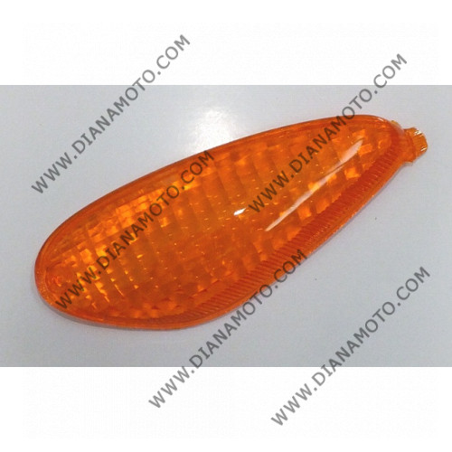 Стъкло за мигач Piaggio NRG 50 заден ляв оранжев к. 5444