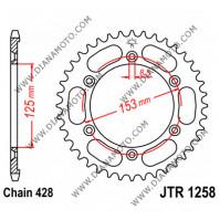 Зъбчатка задна JTR 1258 - 54 к.9364