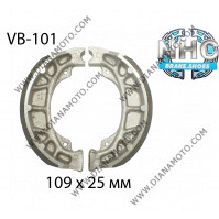 Накладки VB 101 ф 109х25мм EBC 893 FERODO FSB704 NHC к. 14-61