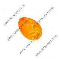 Стъкло за мигач MBK Ovetto Yamaha Neos 50 преден десен оранжев к. 5380