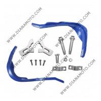 Предпазители за кормило с алуминиева рамка ф 22 мм син к. 7416