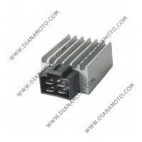 Реле зареждане Suzuki Sepia 50 GY6 50 12V/8A DC/AC 4 пина равно на  RMS 246030070 = RMS 246030072 к. 4131