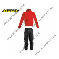 Дъждобран Acerbis черно-червен 16428.349 размер M к. 8173