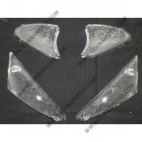 Стъкла за мигачи к-т Peugeot Buxy 50 бели к. 5187