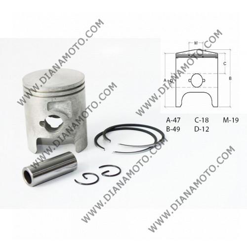 Бутало к-т Derbi Senda 50 ф 39.90 мм 2006 STD LC ОЕМ качество к. 6944