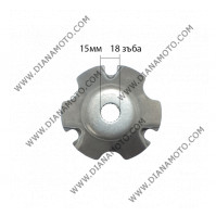 Вътрешна част вариатор Aprilia Derbi Gilera Piaggio 50 ф 15 мм равна на код RMS 100300110 к. 9505
